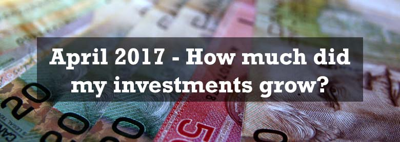 April 2017 – Investment portfolio growth
