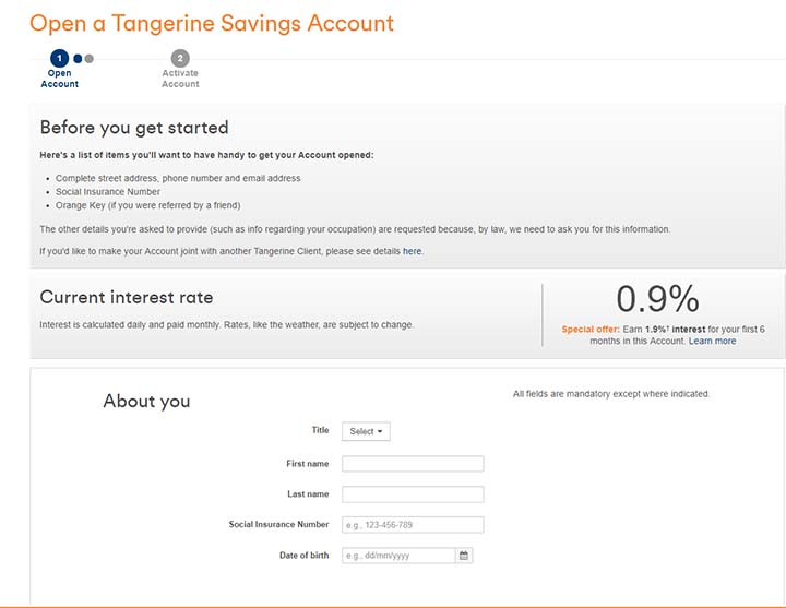 Switch to Tangerine - Becoming a Tangerine Client