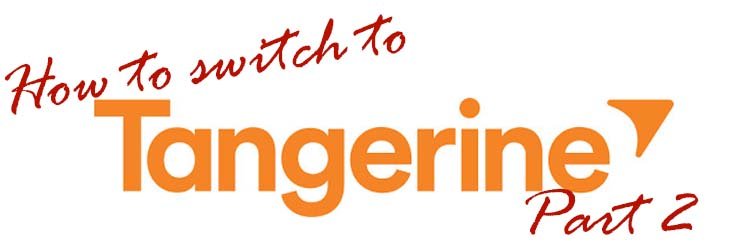 How to switch to Tangerine Part 2