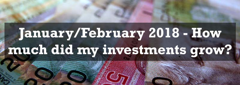 January/February 2018 – Investment portfolio growth