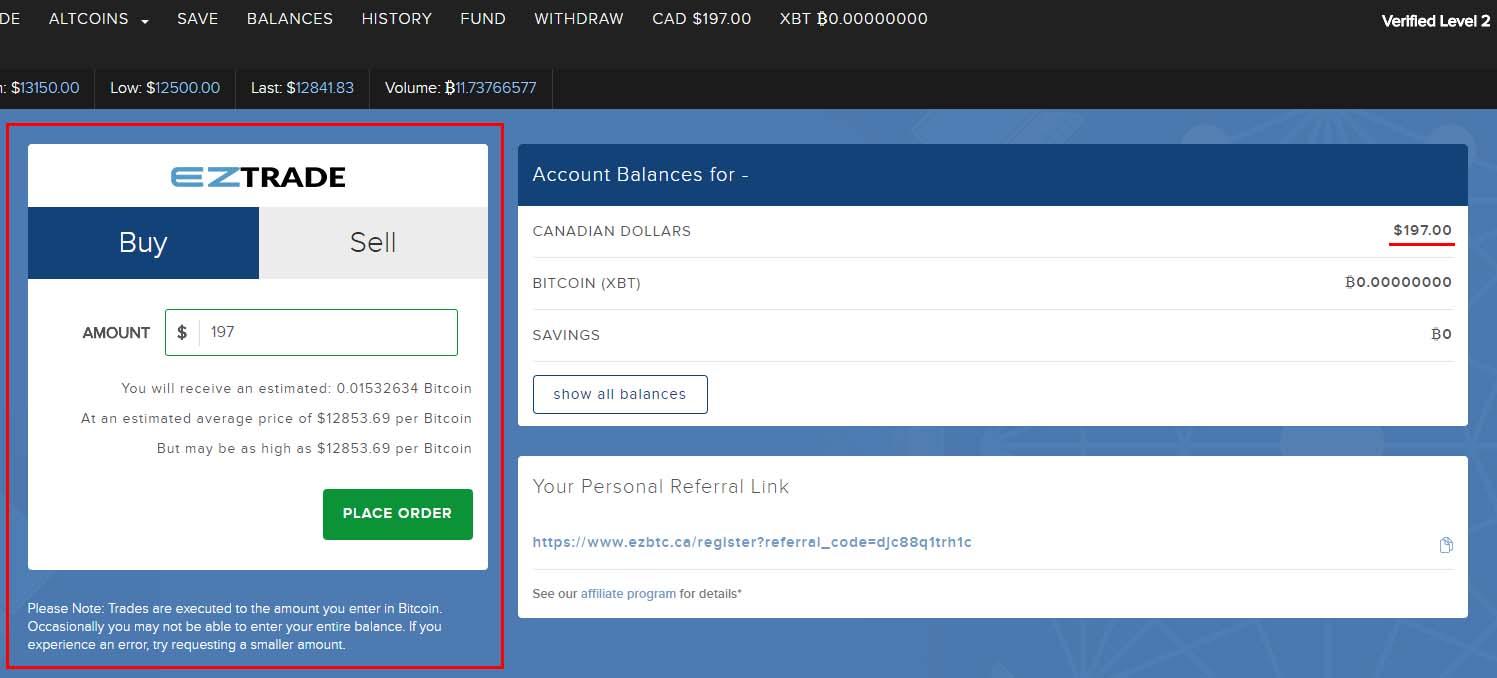 Buy Bitcoin in Canada - Buy Bitcoin - 1 - Buy Bitcoin on EzBtc - large