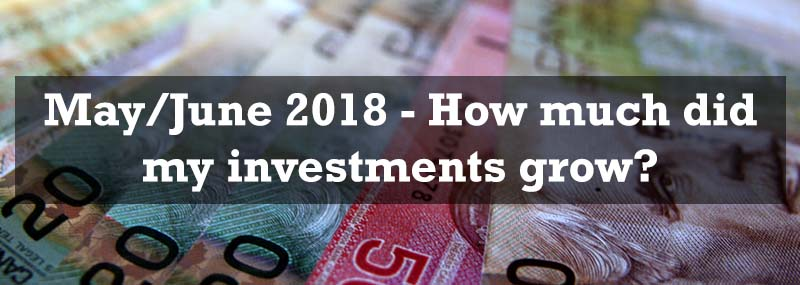 May/June 2018 – Investment Portfolio Growth