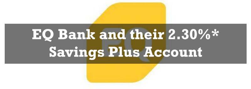 EQ Bank - the best high interest savings account - banner