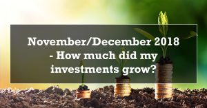 November December 2018 - How much did my investments grow