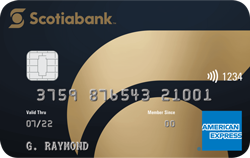 Scotiabank Gold American Express Credit Card
