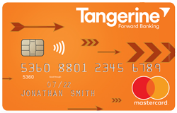 Tangerine Money-Back MasterCard Credit Card