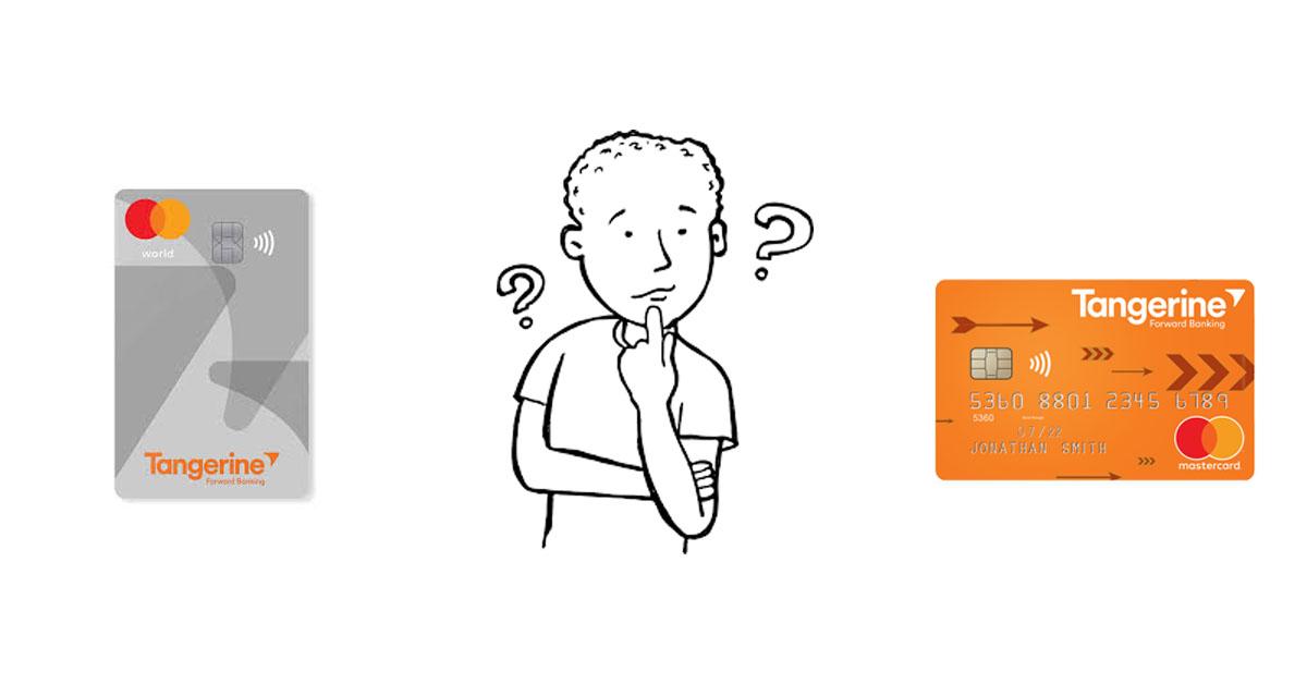 Tangerine Credit Card Review: World vs Money-Back Mastercard