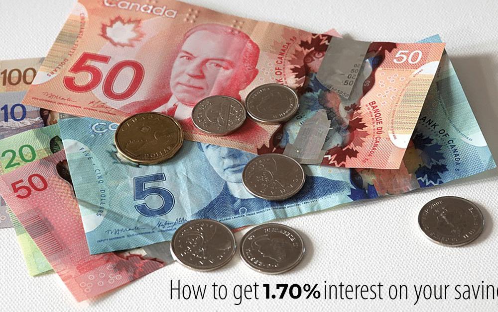 EQ Bank High Interest Savings Plus Account