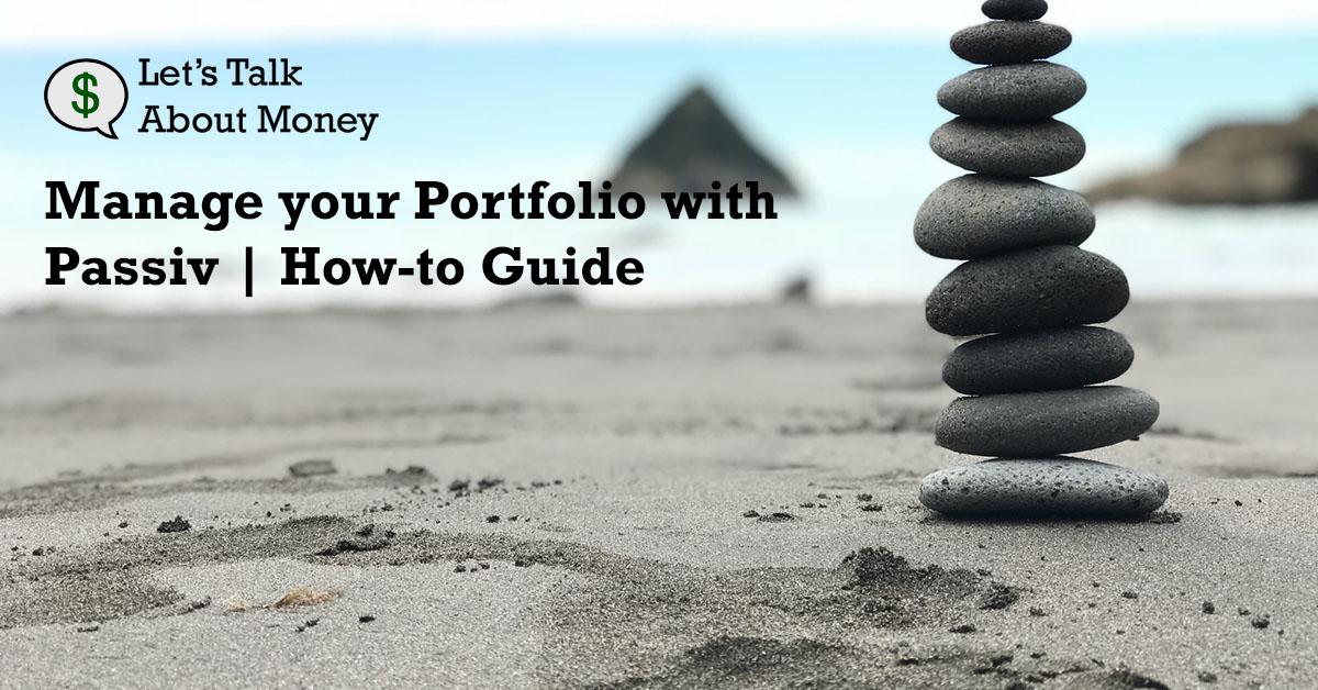Manage Your Questrade Portfolio with Passiv