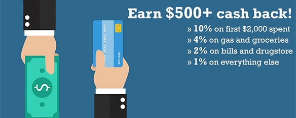 Earn cash back with Scotia Visa, one of the best Canadian credit cards