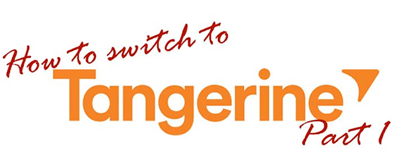How to switch to Tangerine Guide Part 1