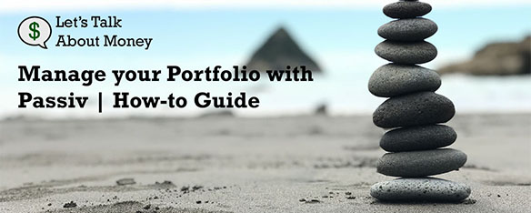 Rebalance your portfolio with Passiv
