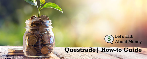 Sign up to Questrade