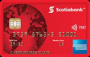 Scotia American Express Card Art