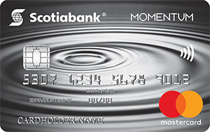 Scotia Momentum Mastercard Credit Card