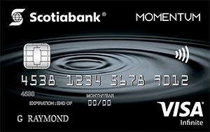 Scotia Momentum Visa Infinite Card Art