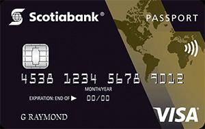 ScotiaGold Passport Visa Card Art