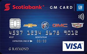 Scotiabank GM Visa Card Art