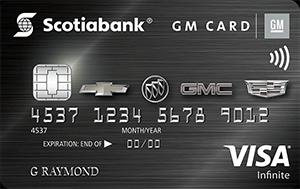 Scotiabank GM Visa Infinite Card