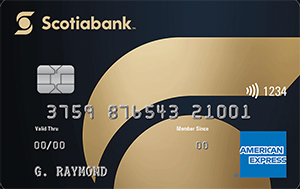 Scotiabank Gold American Express Card Art