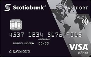 Scotiabank Passport Visa Infinite Card Art