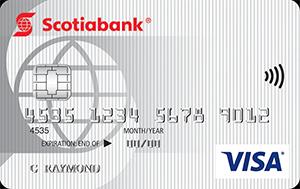 Scotiabank Value Visa Card Art