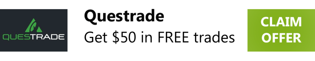 Get $50 in Free trades with Questrade